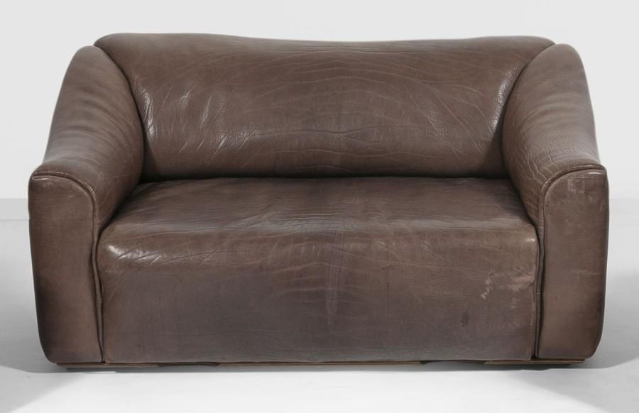 canape cuir 130 cm