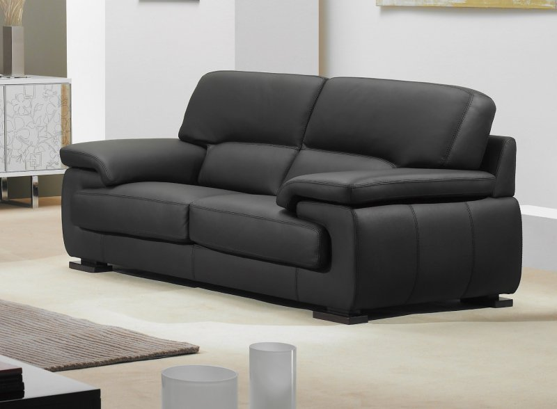 canape cuir 3 places convertible - Canape Cuir Convertible Italien