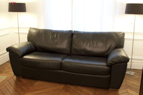 canape cuir 3 places ikea