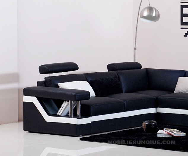 canape cuir 3 places new york