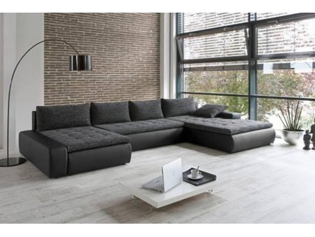 canape cuir assise profonde