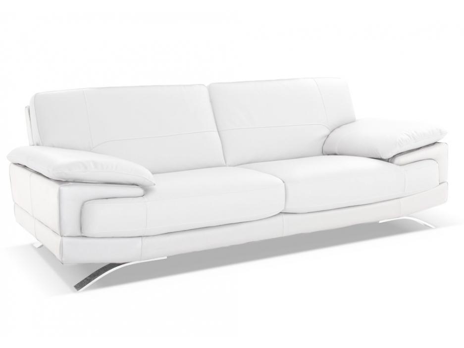 Canape Cuir Blanc Conforama