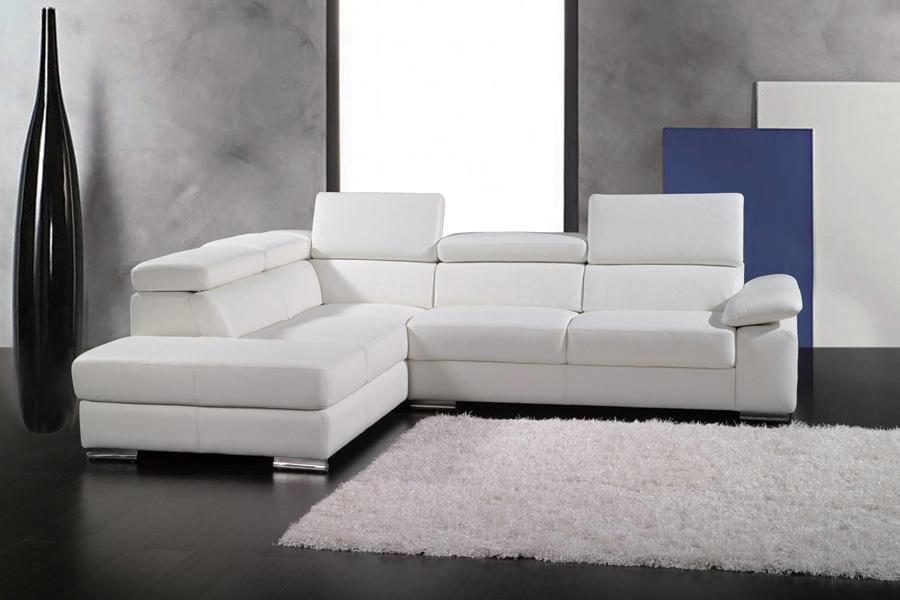 canape cuir blanc xxl