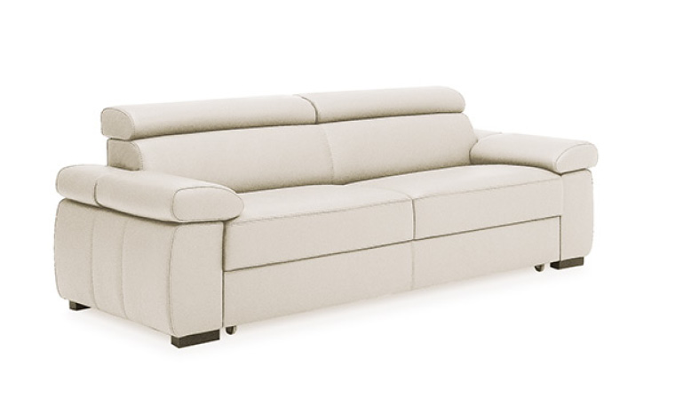 canape cuir convertible 3 places