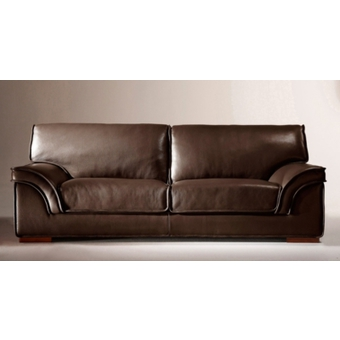 canape cuir convertible marron