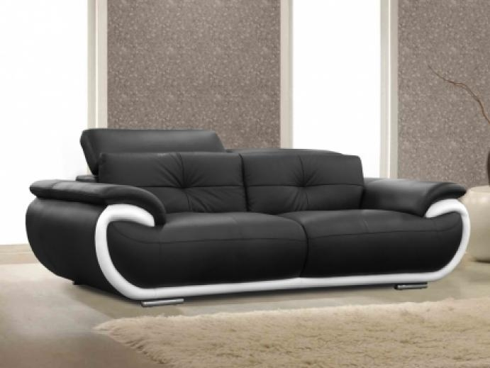 canape cuir convertible pas cher