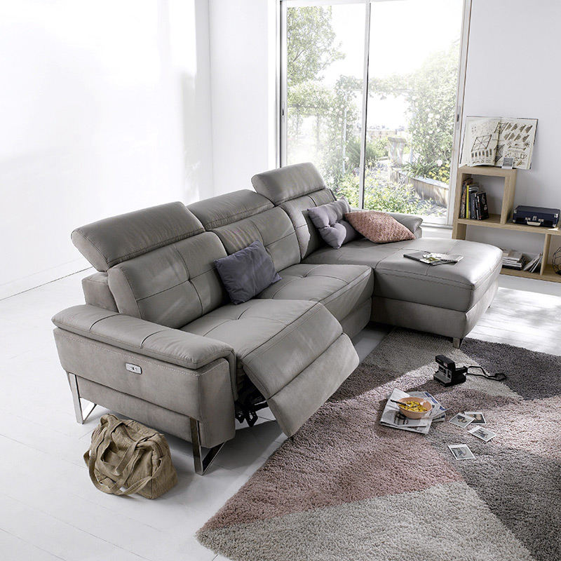 canape cuir convertible relaxation