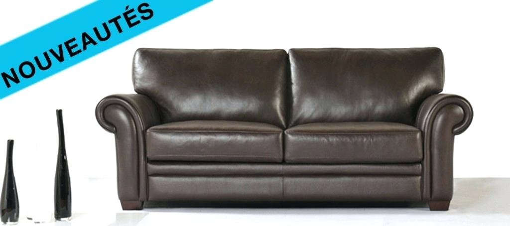 canape cuir convertible style chesterfield