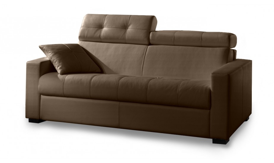 canape cuir convertible