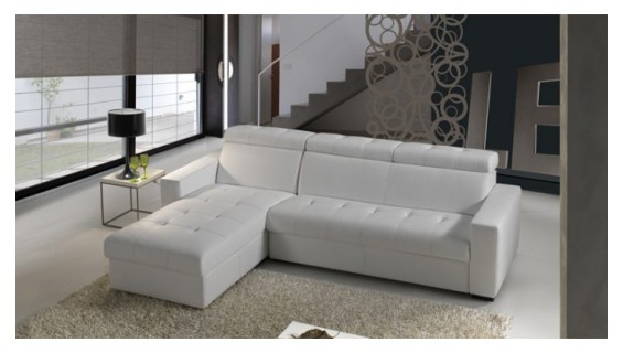 canape cuir d'angle convertible