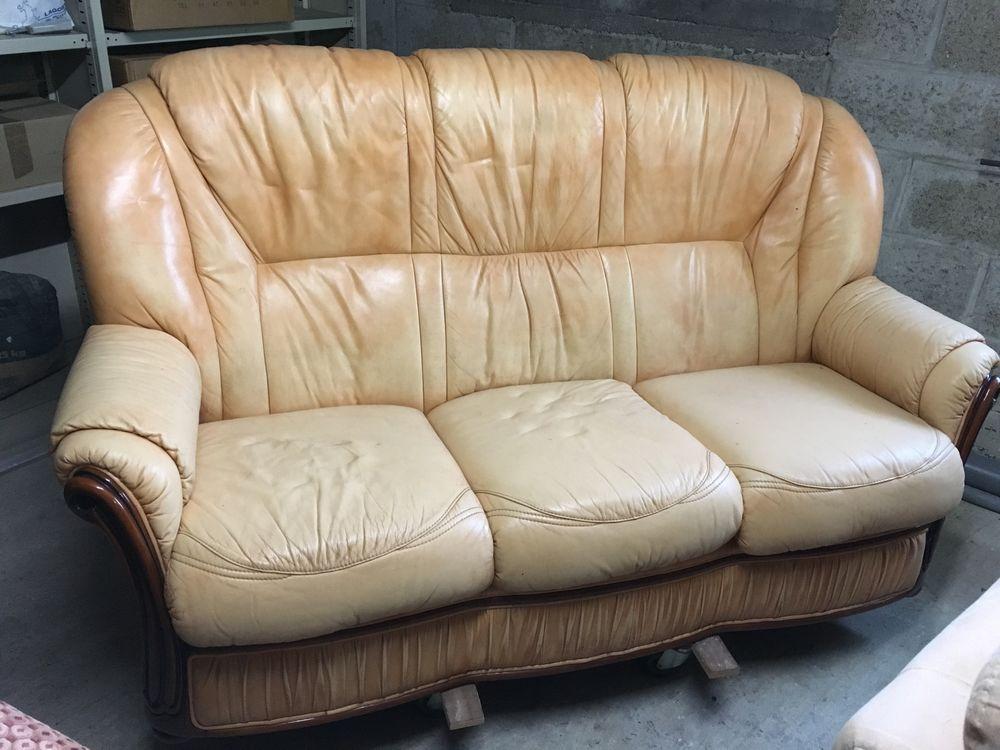 canape cuir dans le 77