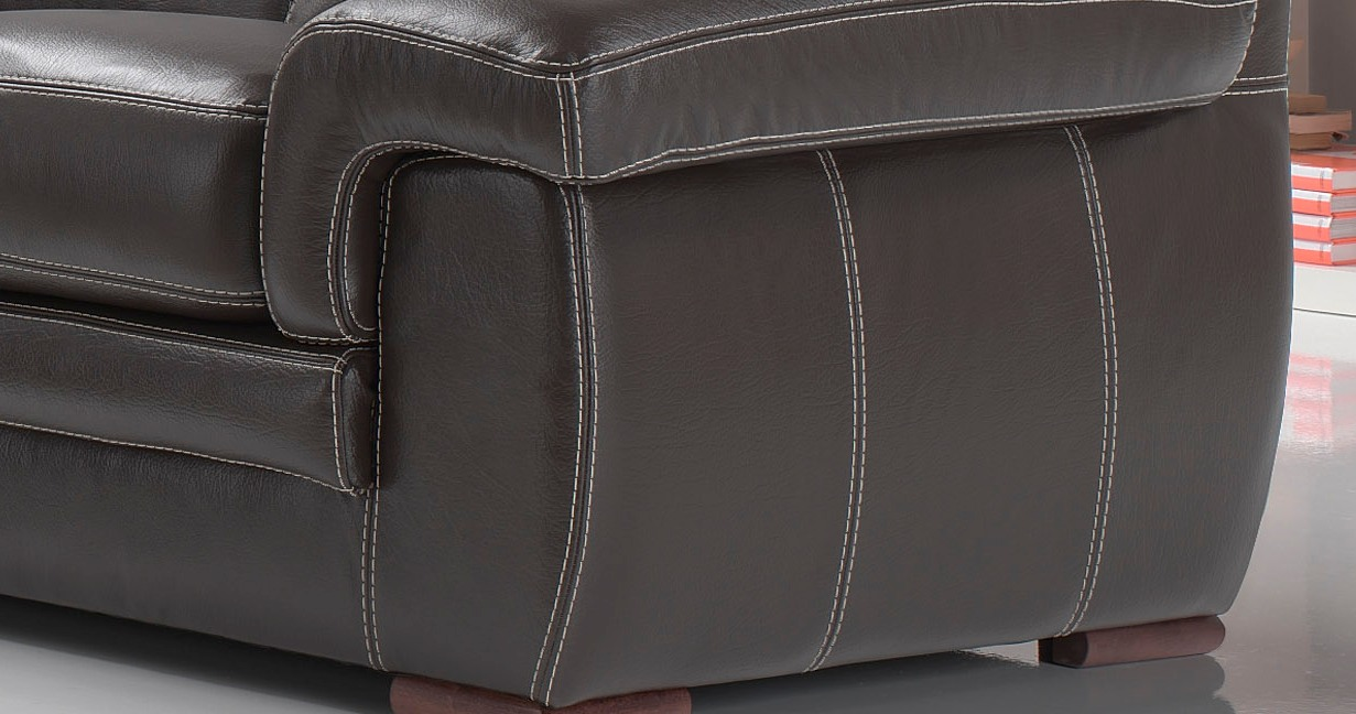canape cuir de buffle 3+2
