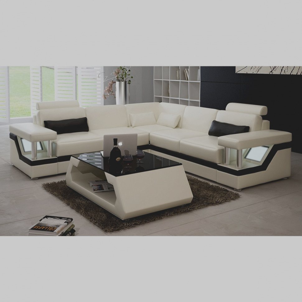 Canape Cuir Luxe Design
