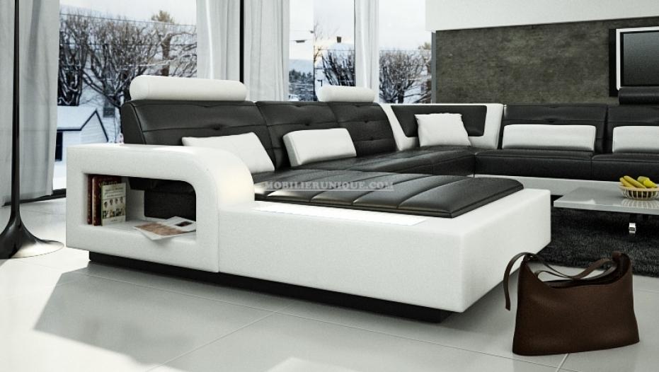 canape cuir panoramique