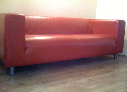 Canape Cuir Rouge Ikea