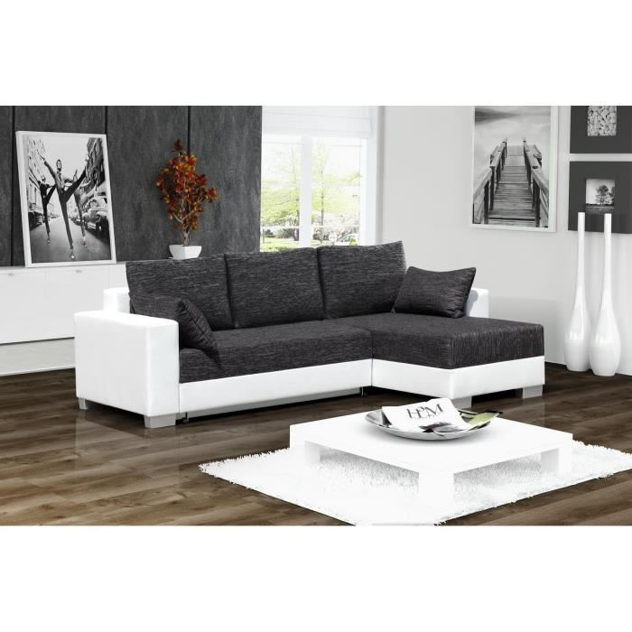 Canape D Angle Cuir 3 Places