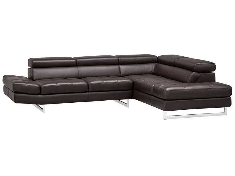 Canape D Angle Cuir Design Panoramique Fritsch