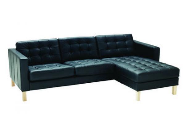 canape d'angle cuir noir ikea